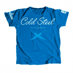 Футболка Cold Steel Cursive Blue Tee Shirt Women TK